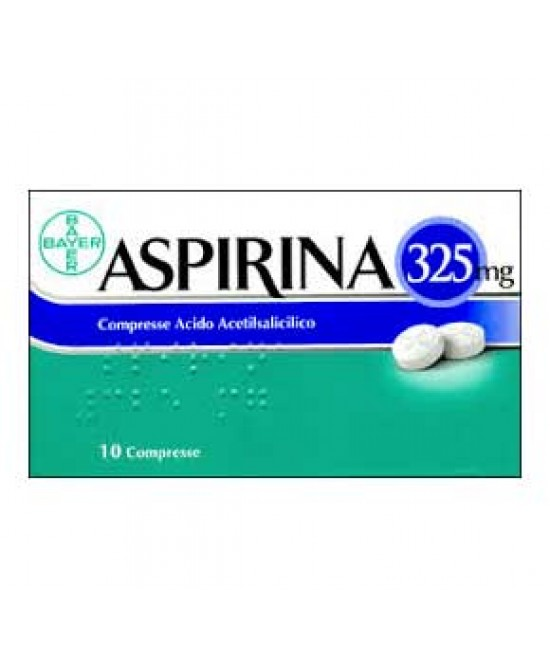 Aspirina 325mg Compresse 10 Compresse - Farmawing