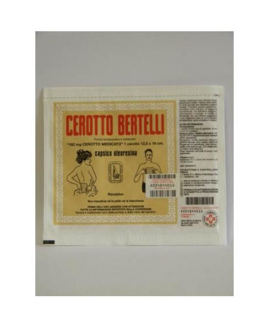 Kelémata Cerotto Bertelli Medio Uso Topico Per Dolori Articolari E Muscolari Cerotto 16x12cm - Farmacia 33