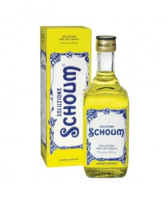Soluzione Schoum Soluzione Orale 550g - Farmacia 33