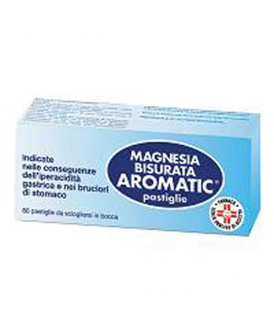 Magnesia Bisurata Aromatic Patologie Digestive 80 Pastiglie - La tua farmacia online