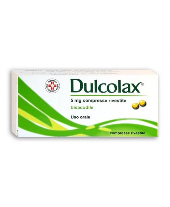 Dulcolax 40 Compresse Rivestite da 5mg - La tua farmacia online