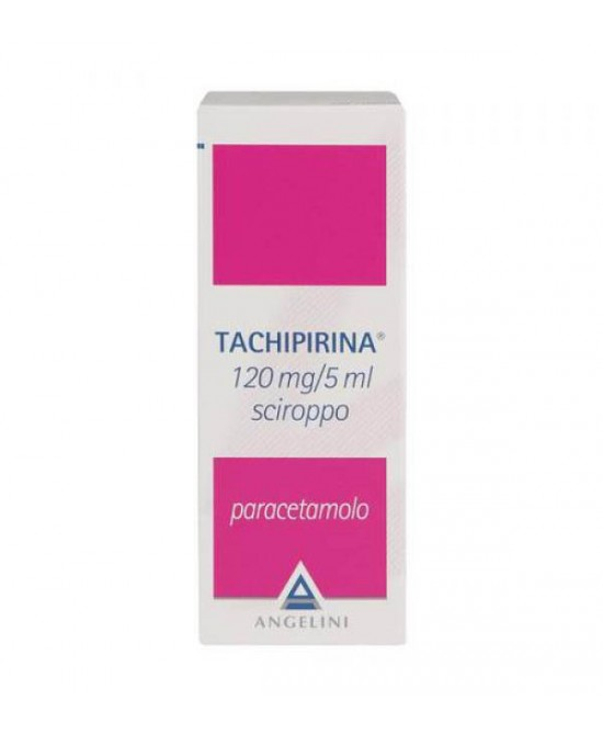 Angelini Tachipirina 120mg/5ml Sciroppo Per Febbre E Dolore 120ml - Farmacento