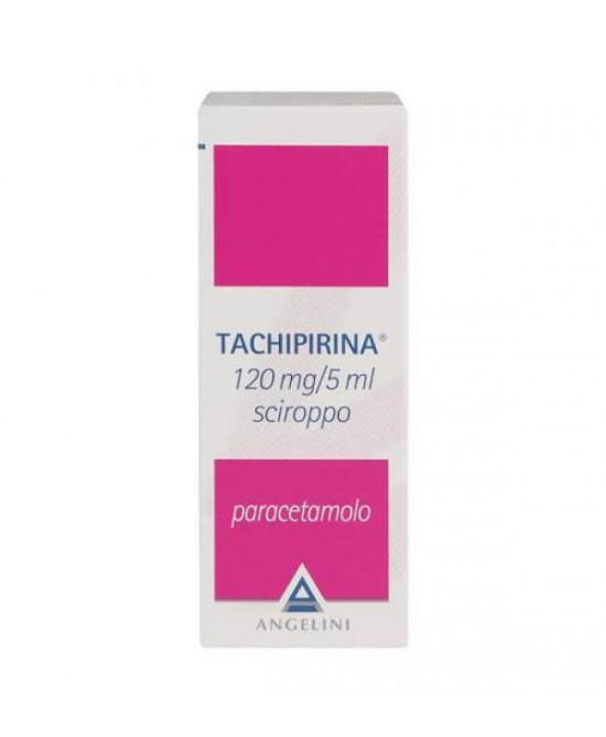 Angelini Tachipirina 120mg/5ml Sciroppo Per Febbre E Dolore 120ml - La tua farmacia online