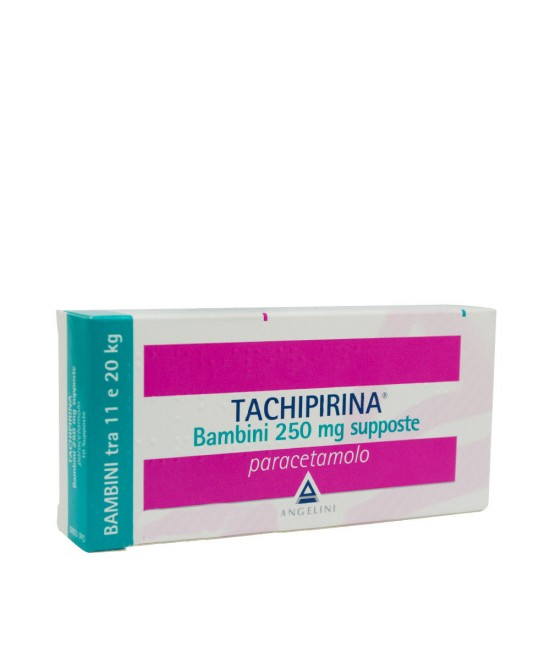 Angelini Tachipirina Bambini 250mg Supposte Per Febbre e Dolore 10 Supposte - Farmacento