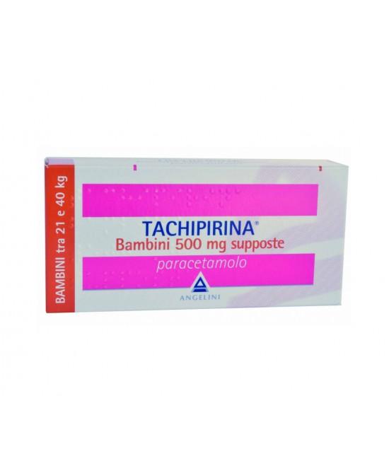 Angelini Tachipirina Bambini 500mg Supposte 10 Supposte - Farmacento