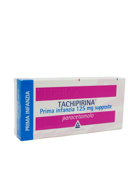 Angelini Tachipirina Prima Infanzia 125mg Supposte Per Febbre E Dolore 10 Supposte - Farmacento