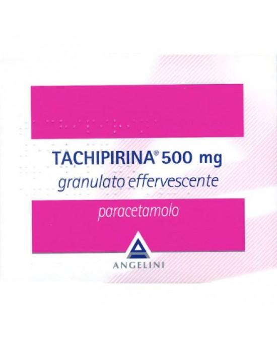 Angelini Tachipirina 500mg Granulato Effervescente Per Febbre E Dolore 20 Bustine - Farmacia 33
