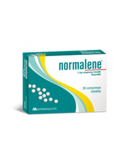 Normalene 5mg  20 Compresse Rivestite - Farmacia 33