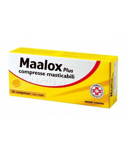 Maalox Plus 30 Compresse Masticabili - Zfarmacia