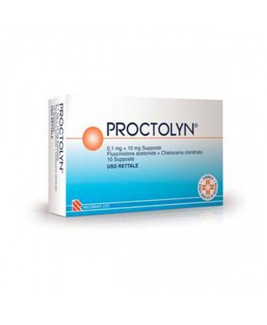 Proctolyn 0,1mg+10mg 10 Supposte - Farmacia 33