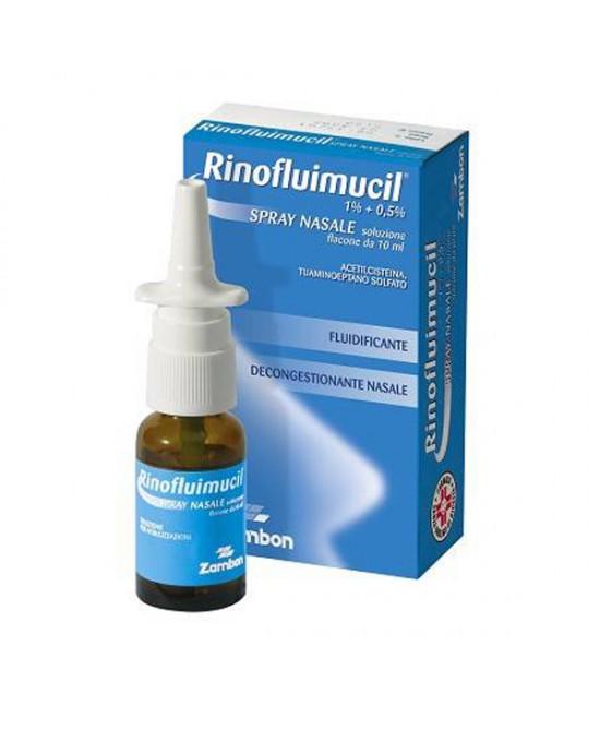 Rinofluimucil Spray Nasale Soluzione 10ml - Farmacia 33
