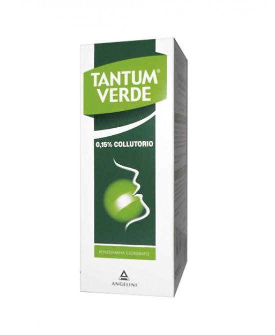 Tantum Verde Colluttorio 0,15% Azione Disinfettante Ed Antinfiammatoria 120ml - Farmawing