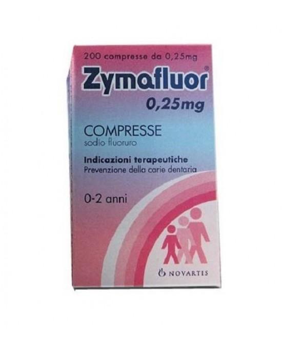 Zymafluor 0.25mg 200 Compresse - Farmawing