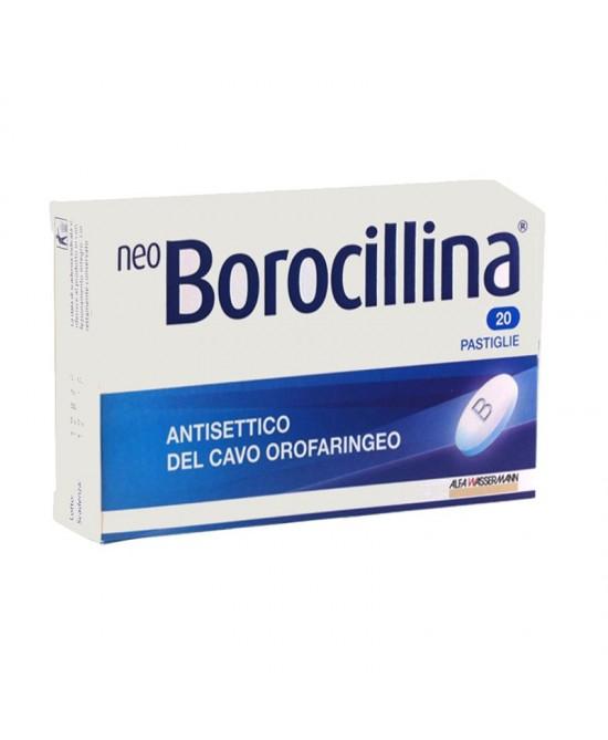NeoBorocillina Antisettico Orofaringeo 1,2 mg/20 mg  20 Pastiglie - Farmawing