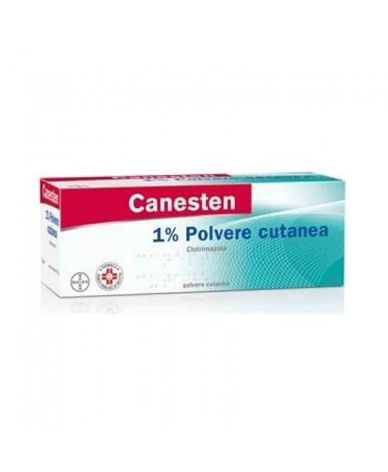 Bayer Canesten 1% Polvere Cutanea Antimicotica Per Funghi Flacone 30g - Farmawing
