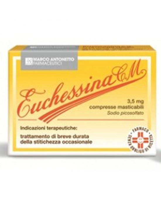 Euchessina CM Trattamento Occasionale Della Stipsi 18 Compresse Masticabili - Farmacia 33