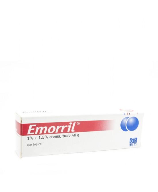 Emorril 1%+1,5% Crema 40g - Farmacento