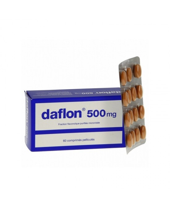 Daflon 500mg 60 Compresse Rivestite - Zfarmacia