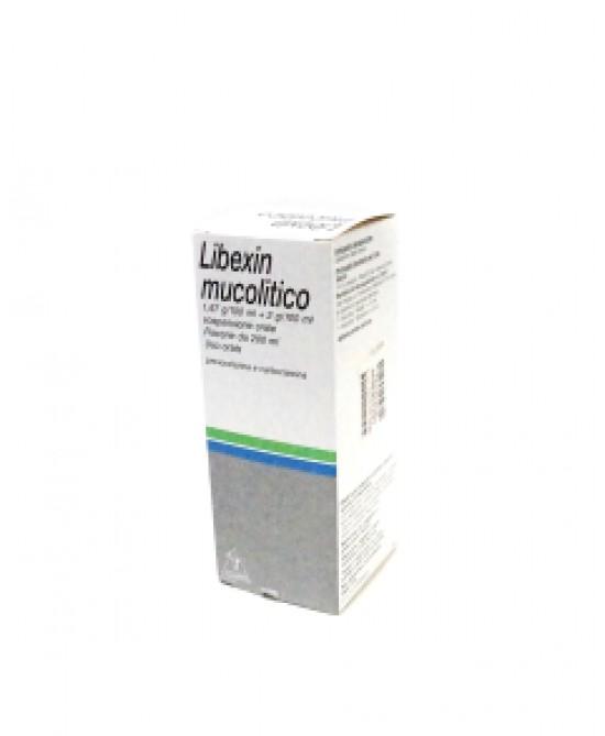 Libexin Mucolitico Sospensione Orale 200ml - Farmacento