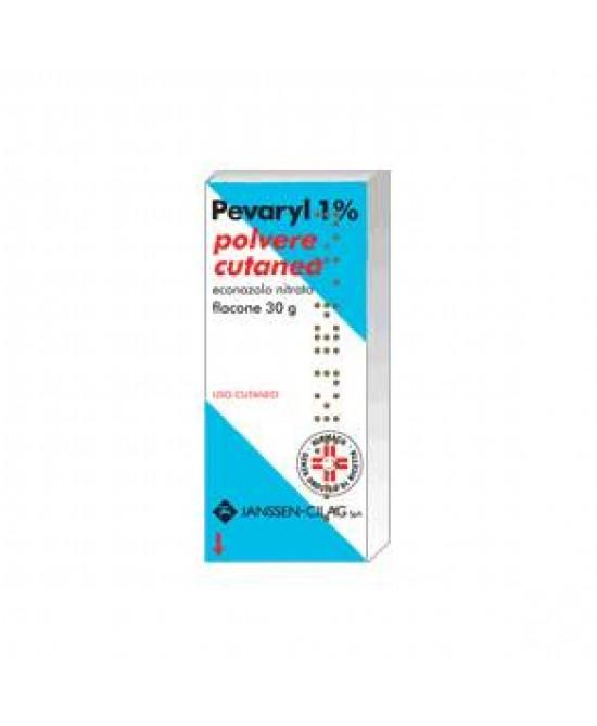 Pevaryl 1%  Polvere Cutanea 30g - FARMAEMPORIO