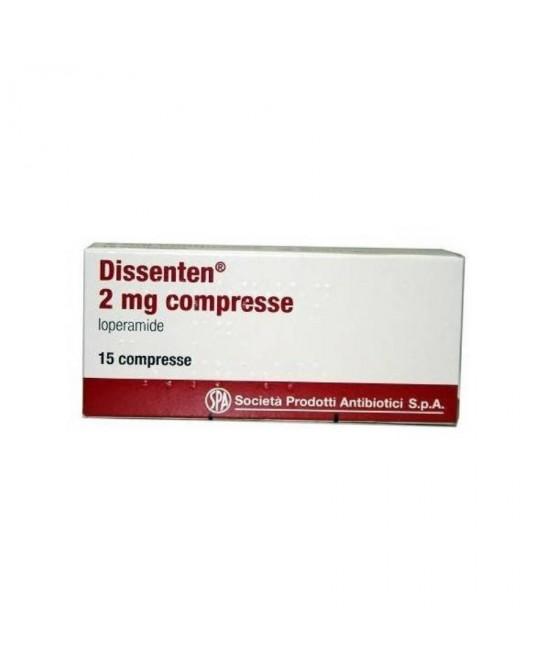Spa Dissenten 2mg Loperamide 15 Compresse - La tua farmacia online