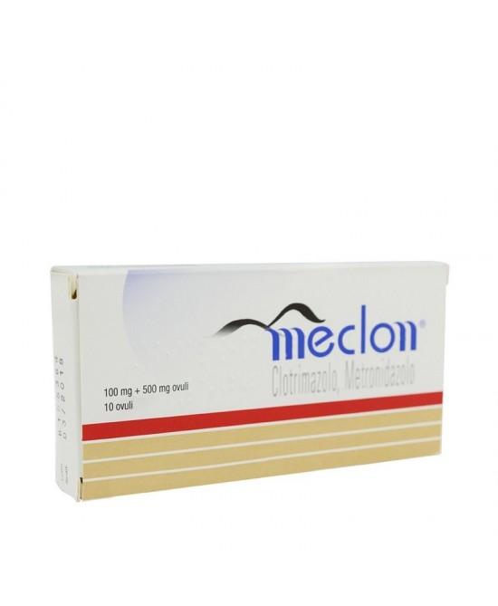 Meclon 100+500mg 10 Ovuli Vaginali - FARMAEMPORIO
