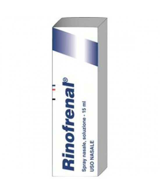 Rinofrenal Spray Nasale Soluzione 15ml - Farmacia 33