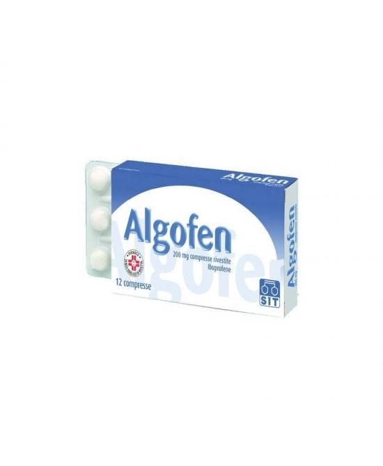 Algofen 12 Compresse Rivestite 200mg - La tua farmacia online