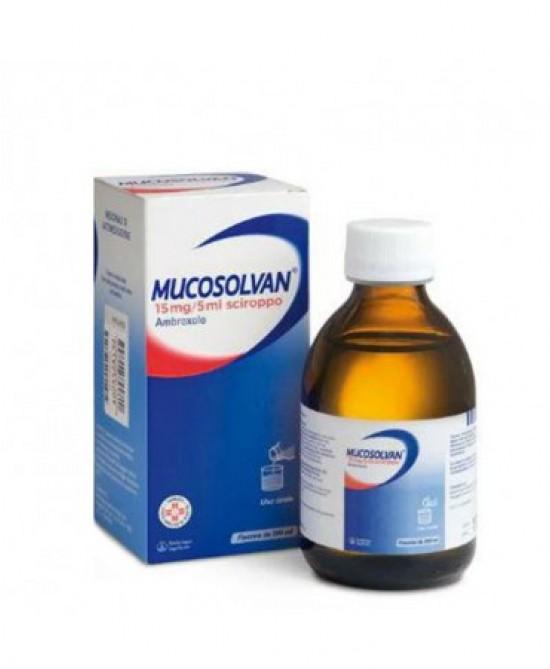 Mucosolvan 15mg/5ml Sciroppo da 200ml - La tua farmacia online