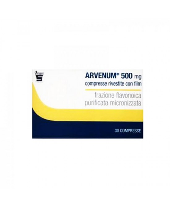 Arvenum 500mg 60 Compresse Rivestite - La tua farmacia online