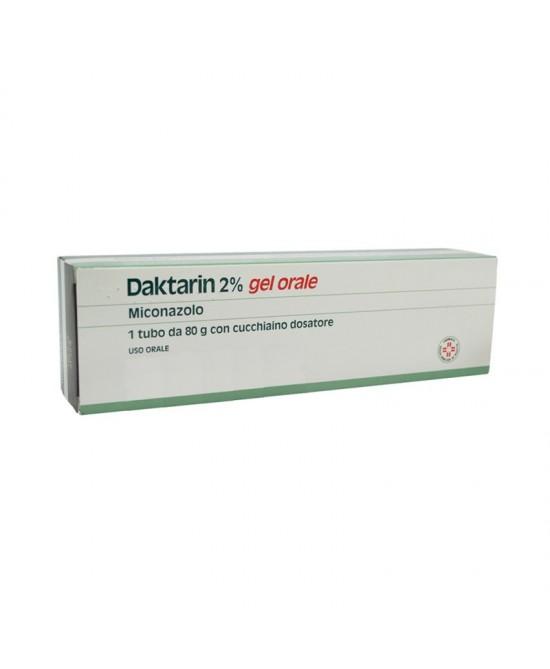 Janssen Daktarin 2% Gel Orale Micozanolo 80g - FARMAEMPORIO