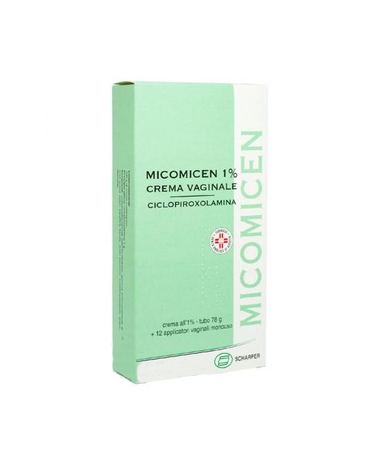 Micomicen Crema Vaginale 78g + Applicatori - FARMAEMPORIO