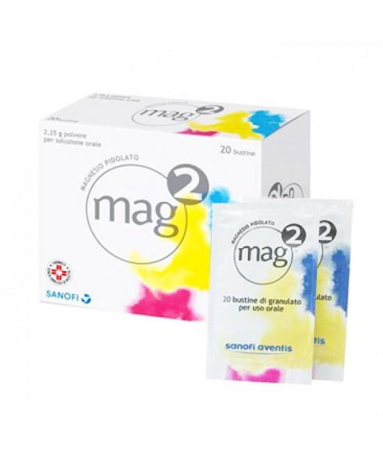 Mag 2  2,25g Polvere Per Soluzione Orale 20 Bustine - Farmacia 33