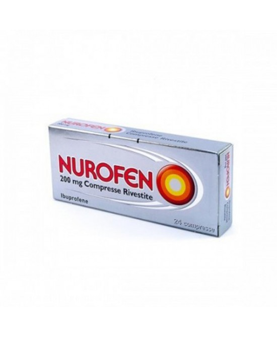 Nurofen Ibuprofene 200mg 24 Compresse Rivestite - Farmacia 33