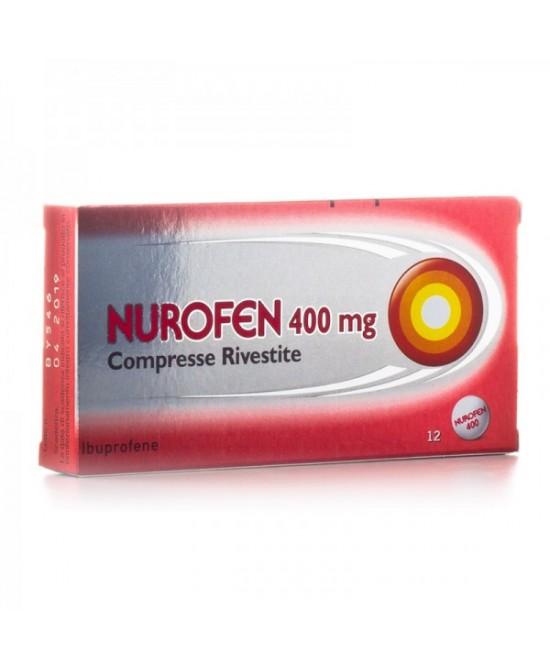 Nurofen Ibuprofene 400 mg 12 Compresse Rivestite - FARMAEMPORIO