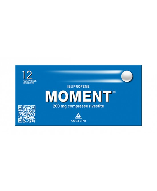 Moment 200mg Ibuprofene 12 Compresse Rivestite - La tua farmacia online