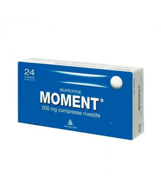 Moment 200mg Ibuprofene 24 Compresse Rivestite - Zfarmacia