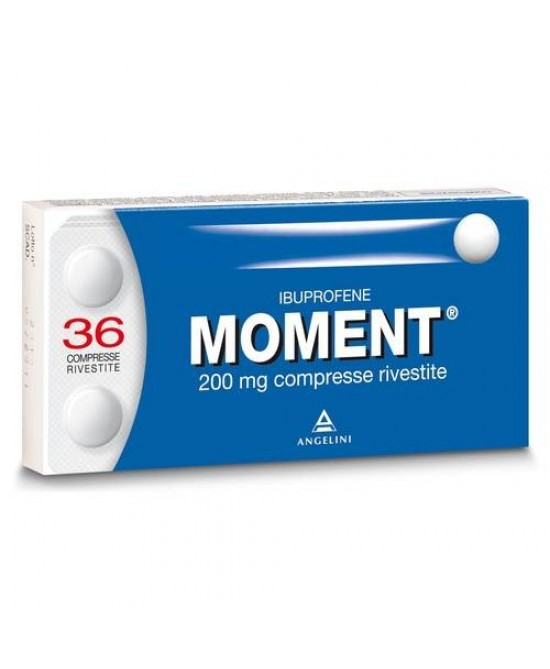 Moment 200mg Ibuprofene 36 Compresse Rivestite - Zfarmacia