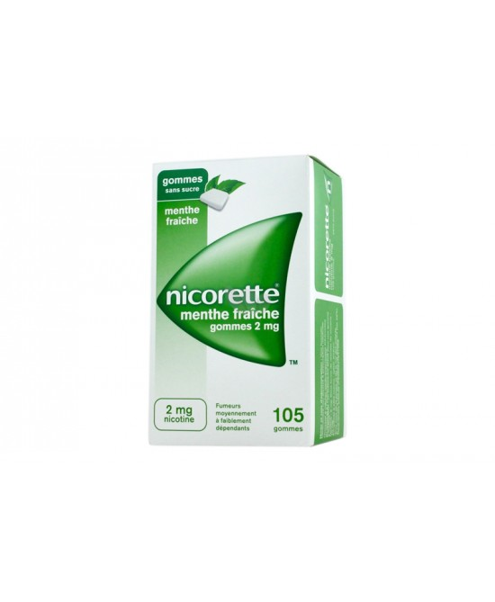 Nicorette 2mg Menta 105 Gomme Da Masticare 2mg - Farmawing