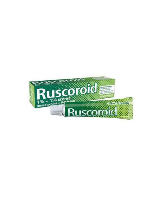 Ruscoroid Crema 1%+1% Crema  40g - Farmacia 33