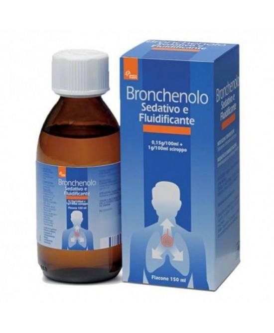 Bronchenolo Sedativo E Fluidificante Sciroppo 150ml - Farmacia 33