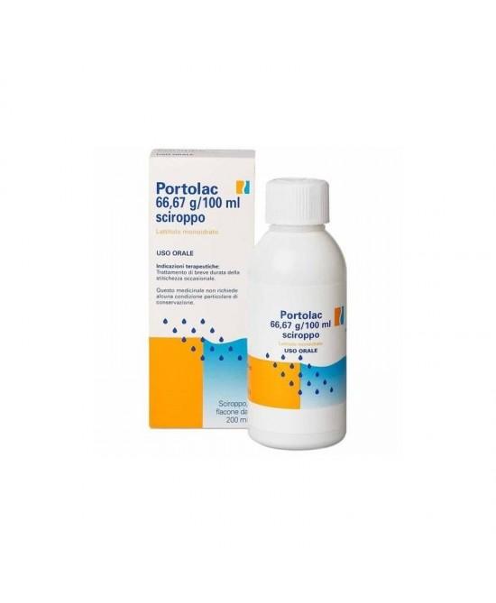 Portolac 66,67 g/100 ml Sciroppo 200ml - Farmacia 33