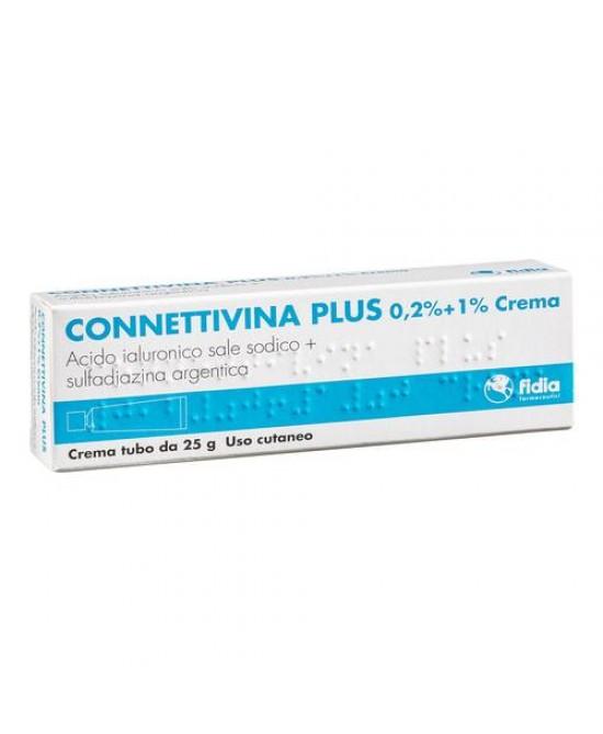Fidia Connettivina Plus 0,2% + 1% Crema 25g - FARMAEMPORIO