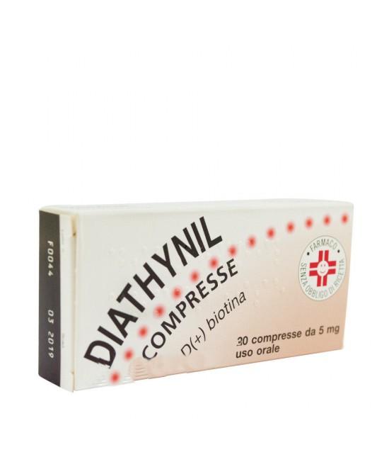 Diathynil 5mg Biotina 30 Compresse - FARMAEMPORIO
