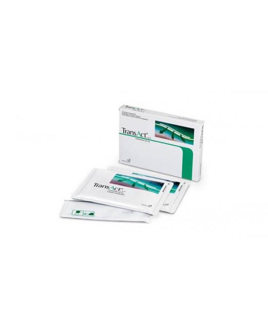 Transact Lat Trattamento Dolore Apparato Muscolare 10 Cerotti Medicati 40mg - La tua farmacia online