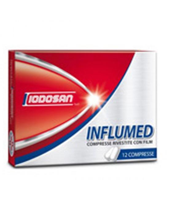 Iodosan Influmed Trattamento Sintomatico Influenza 12 Compresse Rivestite - Farmacia 33