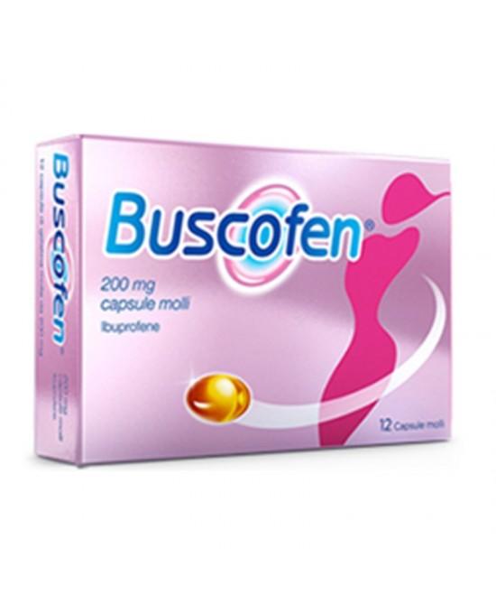 Buscofen 200mg 24 Capsule Molli - Farmacia 33