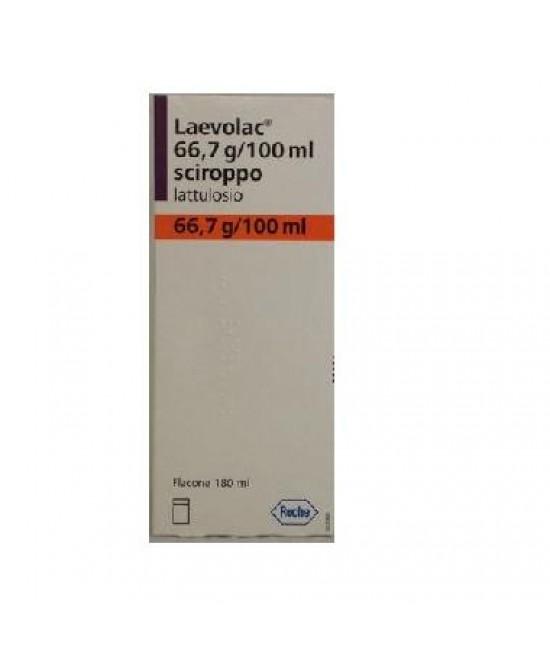 Laevolac 66,7g/100ml Lattulosio Sciroppo  180ml - FARMAEMPORIO