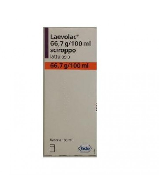 Laevolac 66,7g/100ml Lattulosio Sciroppo 180ml - La tua farmacia online