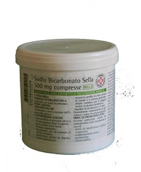 Sodio Bicarbonato 500mg 1000 Compresse - FARMAEMPORIO